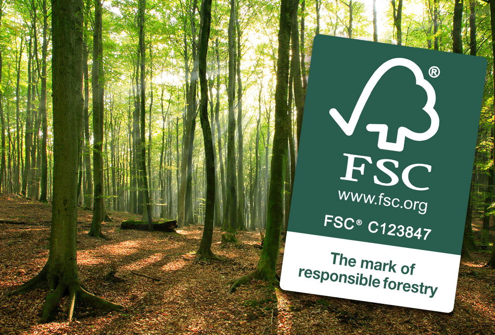 We promote ecological and sustainable forestry